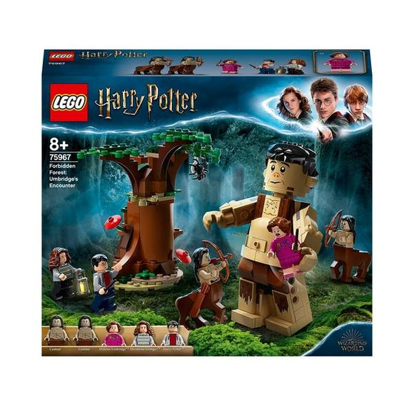 LEGO 75967 Harry Potter Forbidden Forest: Umbridge's Encounter - McGreevy's Toys Direct