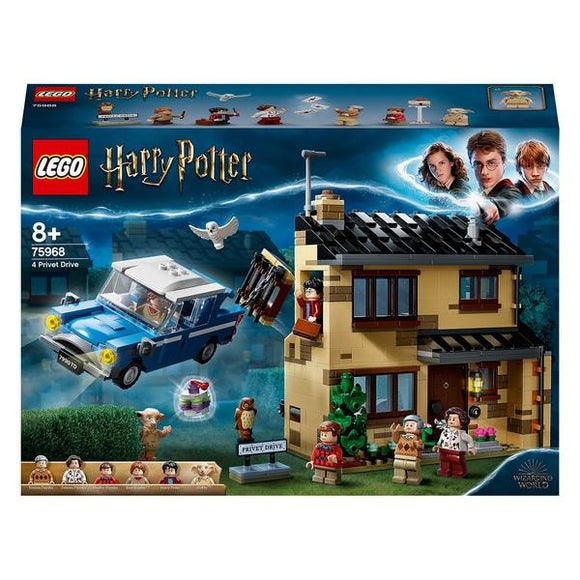 LEGO 75968 Harry Potter 4 Privet Drive - McGreevy's Toys Direct