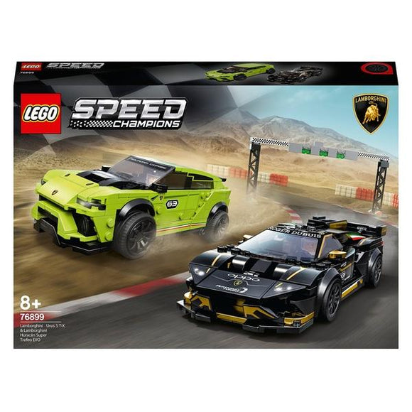 LEGO 76899 Speed Champions Lamborghini Urus & Huracan Set - McGreevy's Toys Direct