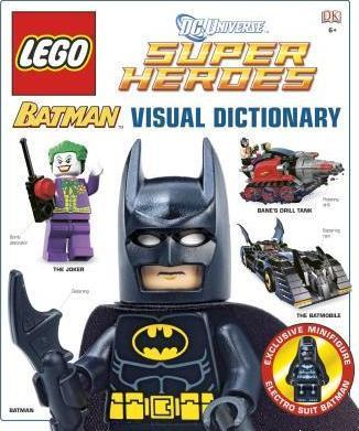 LEGO Batman Visual Dictionary Book - McGreevy's Toys Direct