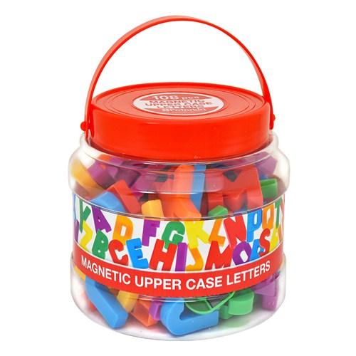 Magnetic Upper Case Letters - McGreevy's Toys Direct