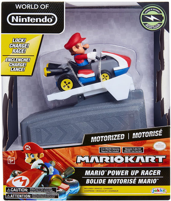 Mario Kart Power Up Racer - Mario - McGreevy's Toys Direct