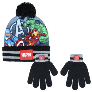 Marvel Avengers 2 Piece Set - Hat & Gloves - McGreevy's Toys Direct