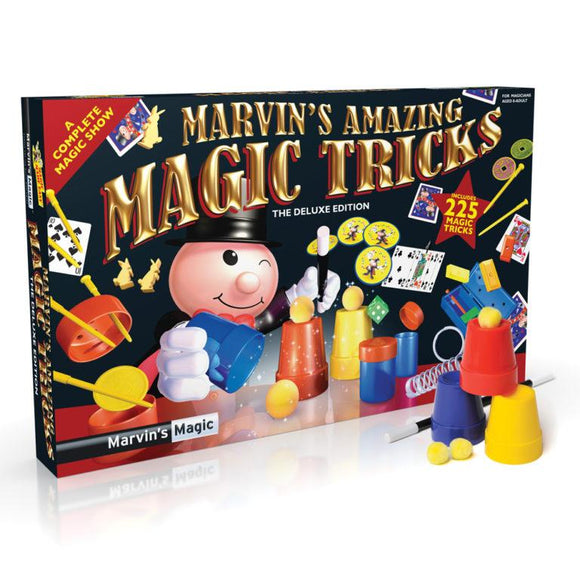 Marvin's Amazing Magic Set - 225 Tricks - McGreevy's Toys Direct