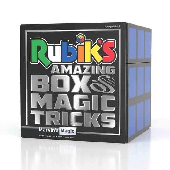 Marvin's Magic Rubik's Amazing box of Magic Tricks - McGreevy's Toys Direct