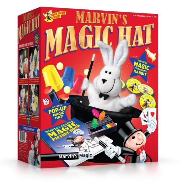 Marvin's Magic Top Hat with Rabbit - McGreevy's Toys Direct