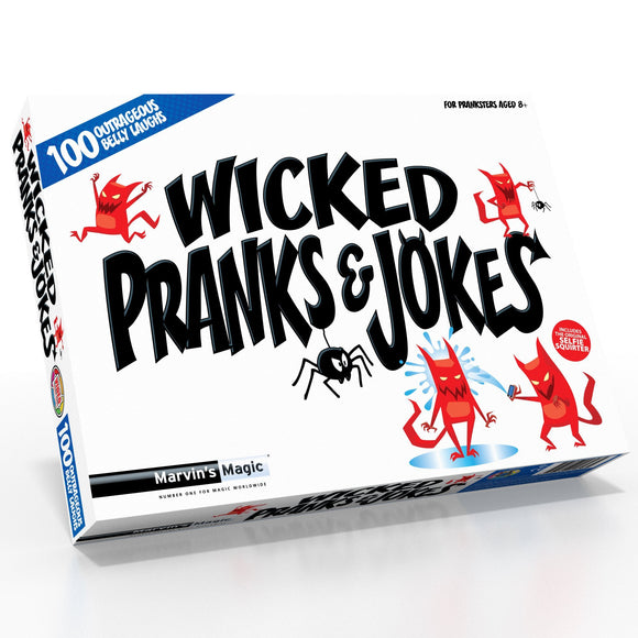 Marvin's Magic Wicked Pranks & Jokes - McGreevy's Toys Direct