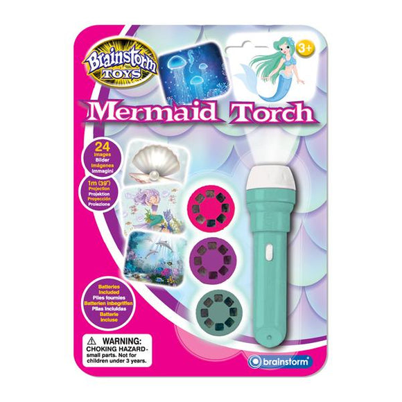 Mermaid Torch and Projector - McGreevy's Toys Direct