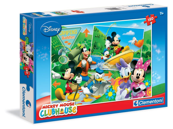 Mickey Mouse Camping Buddies Puzzle 180pcs - McGreevy's Toys Direct