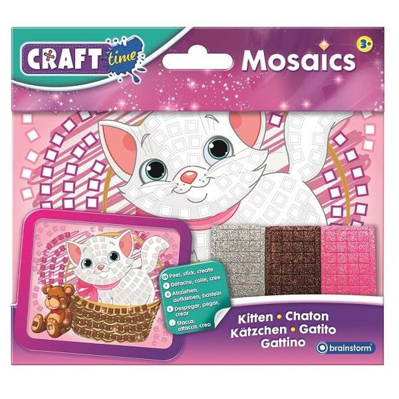 Mosaics - Mini Kitten - McGreevy's Toys Direct