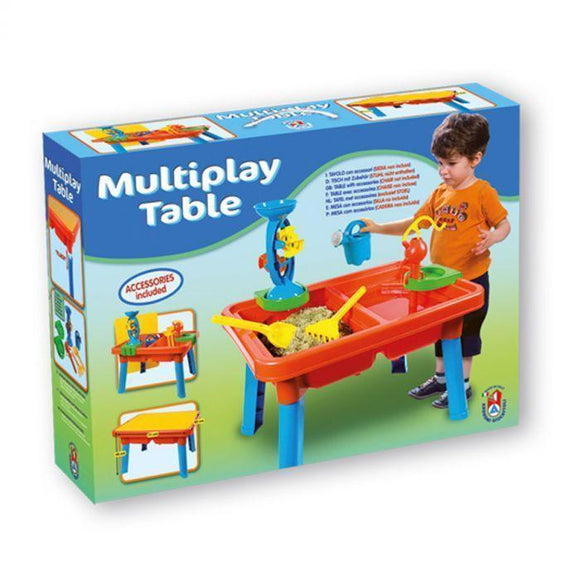 Multiplay Table with Toys - McGreevy's Toys Direct