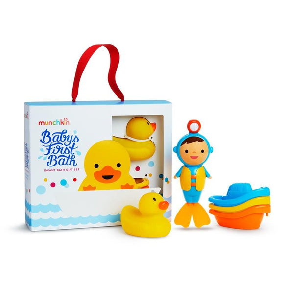 Munchkin Baby's First Bath Gift Set - McGreevy's Toys Direct