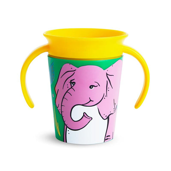 Munchkin Miracle 360 Eco Trainer Cup Elephant - McGreevy's Toys Direct