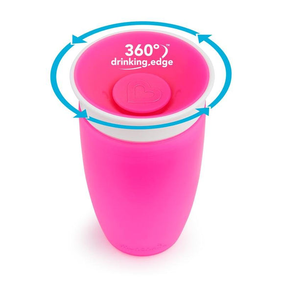 Munchkin Miracle 360 Sippy Cup 296ml, Assorted - McGreevy's Toys Direct