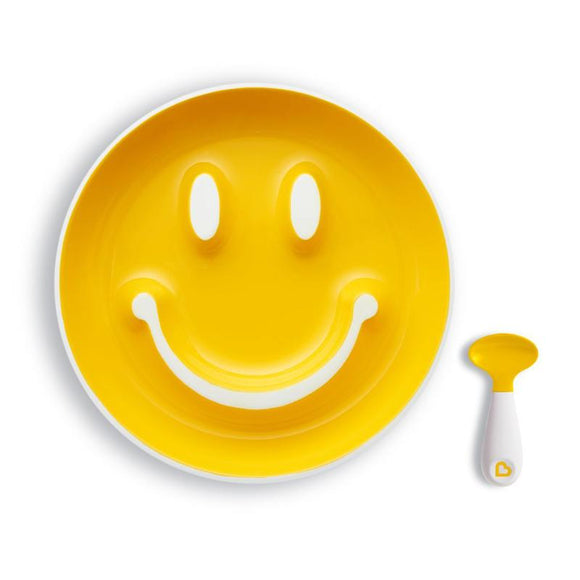 Munchkin Smile N Scoop Training Plate - McGreevy's Toys Direct