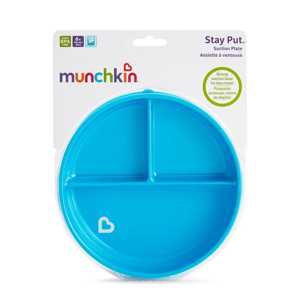 Munchkin Stay Put Suction Plate - McGreevy's Toys Direct