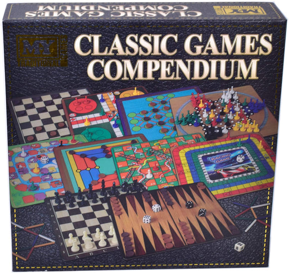 M.Y. Classic Games Compendium - McGreevy's Toys Direct
