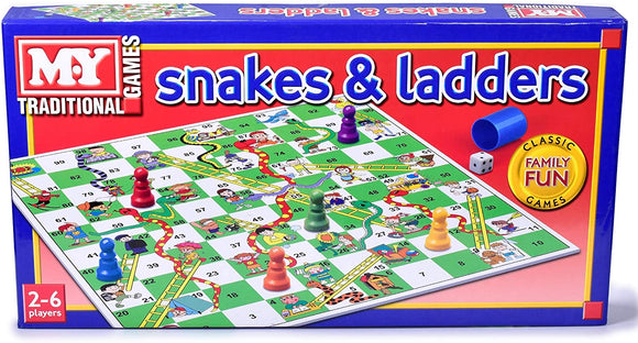 MY Snakes and Ladders Traditional Games - McGreevy's Toys Direct