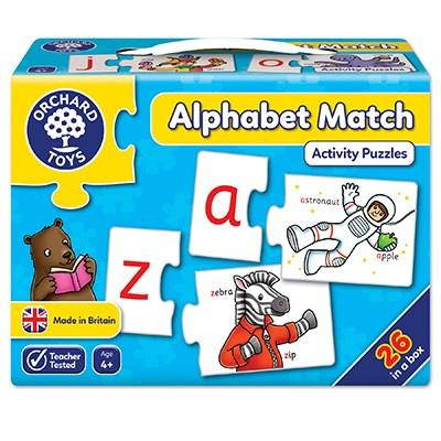 Orchard Toys Alphabet Match Jigsaw Puzzle - McGreevy's Toys Direct