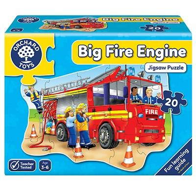 Orchard Toys Big Fire Engine Jigsaw - McGreevy's Toys Direct