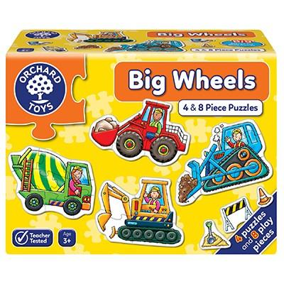 Orchard Toys Big Wheels Jigsaw Puzzles - McGreevy's Toys Direct