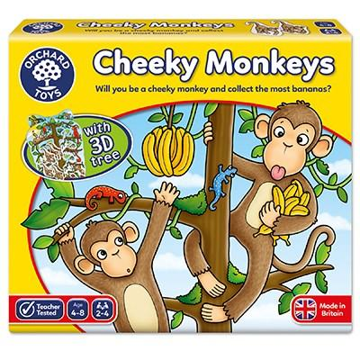 Orchard Toys Cheeky Monkeys Game - McGreevy's Toys Direct