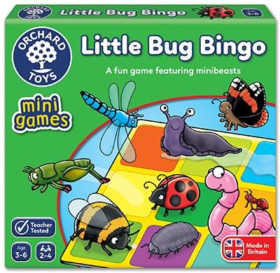 Orchard Toys Little Bug Lotto Mini Game - McGreevy's Toys Direct