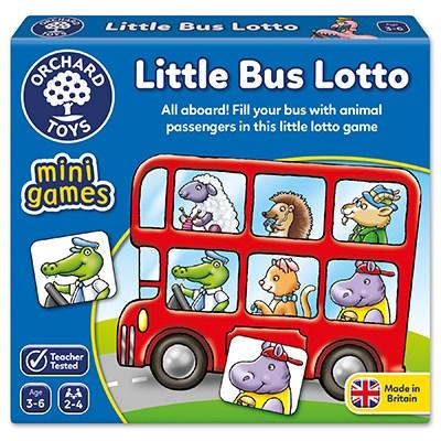 Orchard Toys Little Bus Lotto Mini Game - McGreevy's Toys Direct