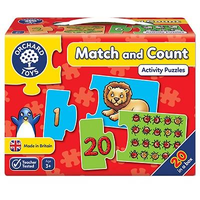 Orchard Toys Match & Count Jigsaw Puzzle - McGreevy's Toys Direct