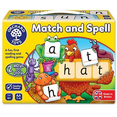 Orchard Toys Match & Spell Game - McGreevy's Toys Direct