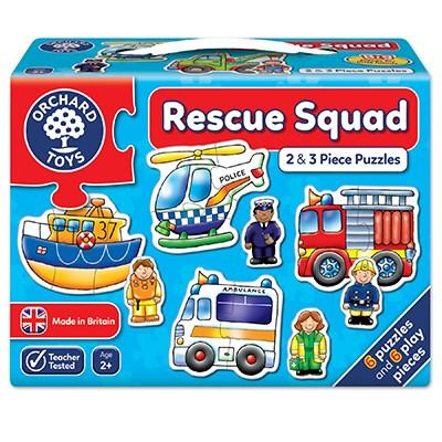 Orchard Toys Rescue Squad Jigsaw - McGreevy's Toys Direct