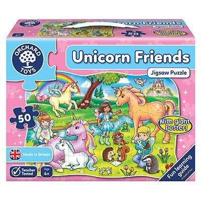 Orchard Toys Unicorn Friends Jigsaw - McGreevy's Toys Direct