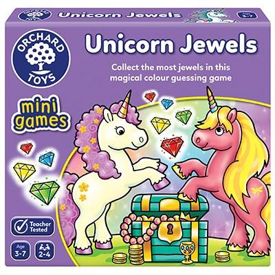 ORCHARD TOYS Unicorn Jewels Mini Game - McGreevy's Toys Direct