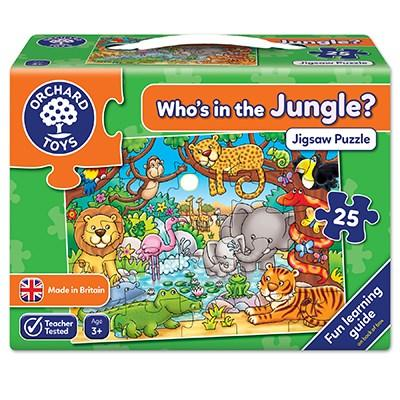 Orchard Toys Who's in the Jungle? Jigsaw - McGreevy's Toys Direct