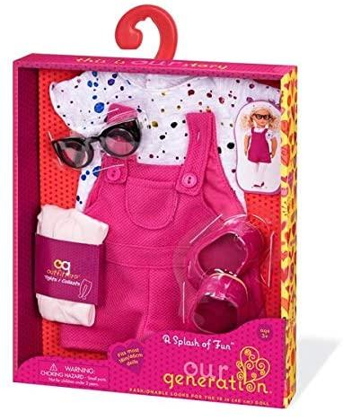 Our Generation A Splash of Fun Outfit - McGreevy's Toys Direct