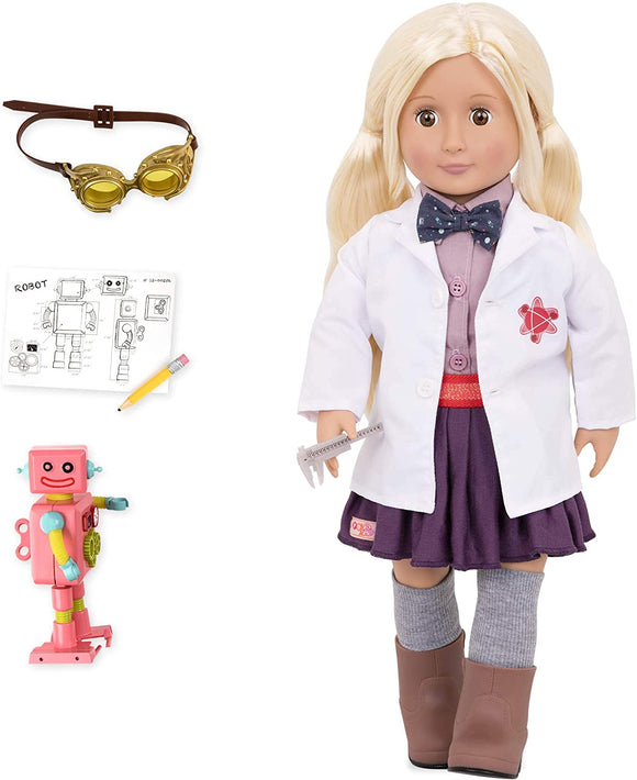 OUR GENERATION Amelia Inventor Doll - McGreevy's Toys Direct