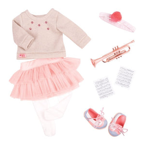 Our Generation Fashion Notes Outfit - McGreevy's Toys Direct