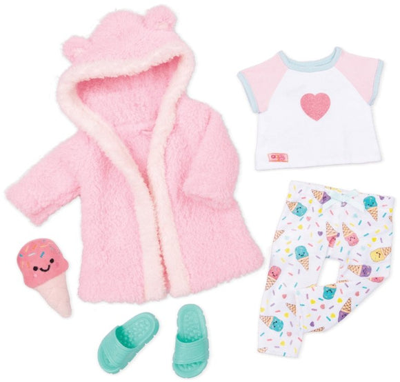 Our Generation Ice Cream Dreams Outfit - McGreevy's Toys Direct