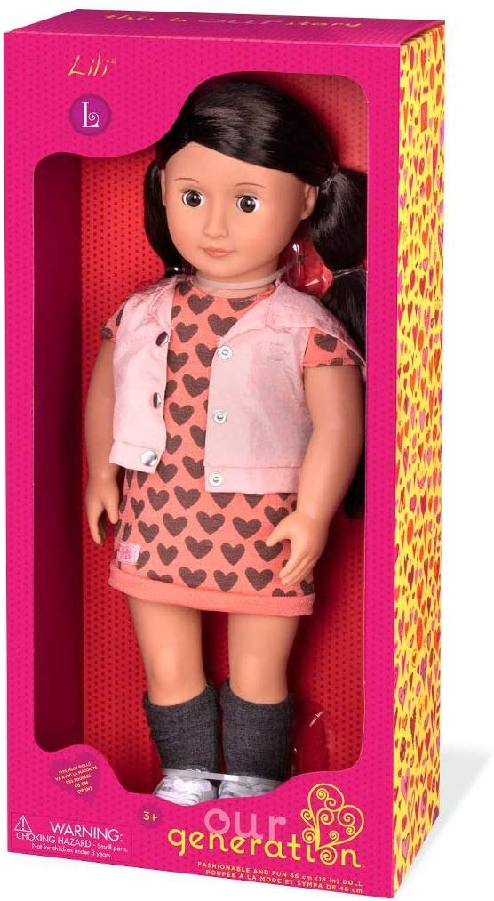 OUR GENERATION Lili Doll - McGreevy's Toys Direct