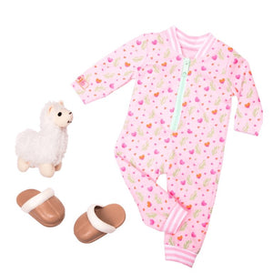 Our Generation Llama Llullabies Outfit - McGreevy's Toys Direct