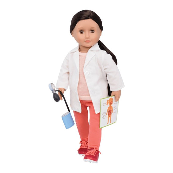 Our Generation Nicola - Doctor Doll - McGreevy's Toys Direct