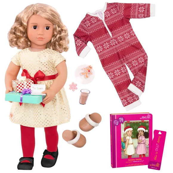 Our Generation Noelle And Sneaky Santas - McGreevy's Toys Direct