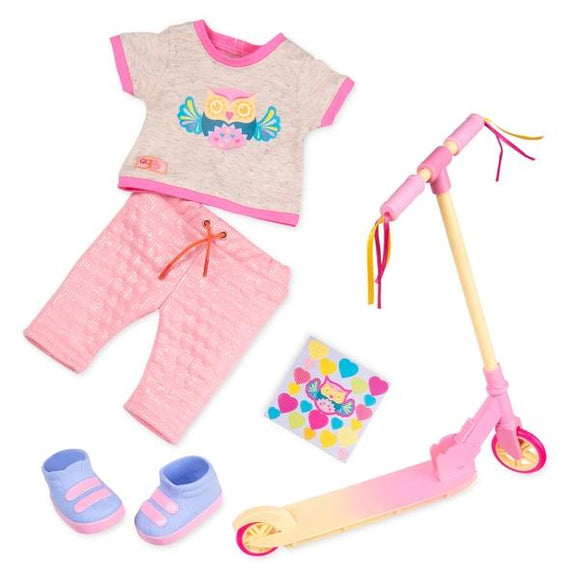 OUR GENERATION Owl Be Cruisin' Deluxe Outfit - McGreevy's Toys Direct