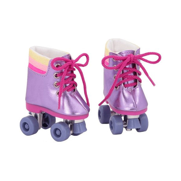 Our Generation Rainbow Roller Shoes - McGreevy's Toys Direct