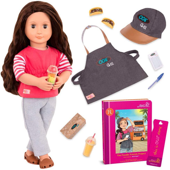 Our Generation Rayna Doll - McGreevy's Toys Direct