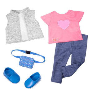 Our Generation Trendy Traveler Outfit - McGreevy's Toys Direct