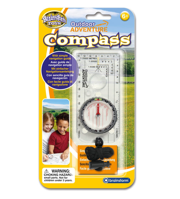 Outdoor Adventure Compass - McGreevy's Toys Direct