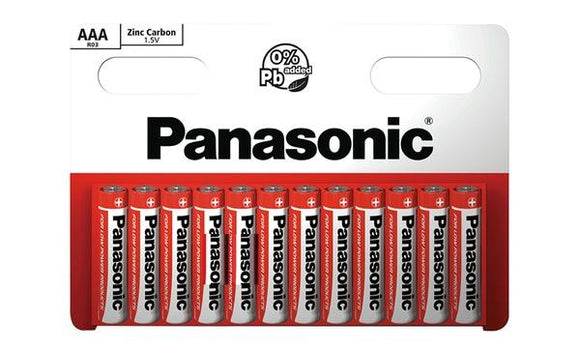 Panasonic AAA 10 pack - McGreevy's Toys Direct