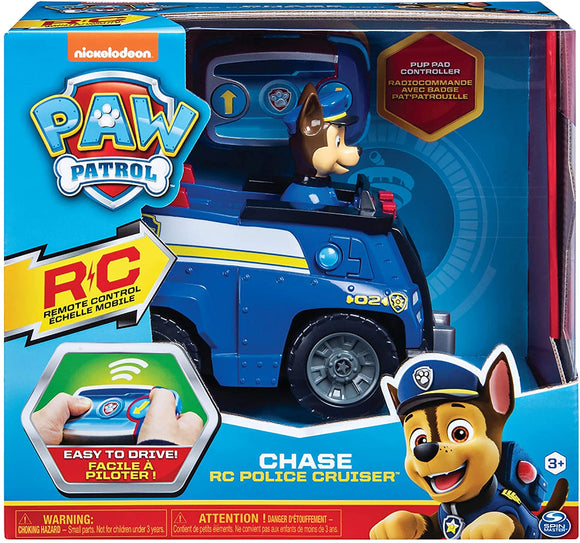 Paw Patrol Chase RC Police Cruiser - McGreevy's Toys Direct