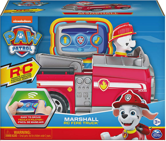 Paw Patrol Marshall RC Fire Truck - McGreevy's Toys Direct